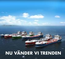 Nu vänder vi trenden – Fler svenska fartyg